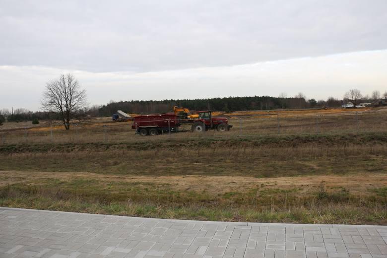 Budowa zakładu Karton-Pak w Nowej Soli.