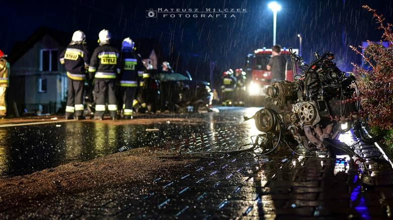 Wypadek w Makowie Podhalańskim, w wyniku którego rannych zostało sześć osób, zginęła także jedna osoba