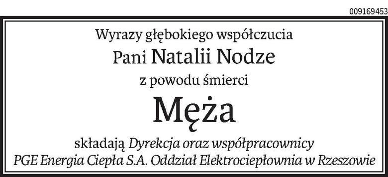 Nekrologi i kondolencje z dnia 18 czerwiec 2019 roku
