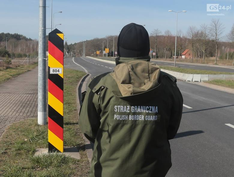 Granica w Lubieszynie zamknięta, a ludzie i tak przyjeżdżają. Zamknięte granice z Niemcami w województwie zachodniopomorskim