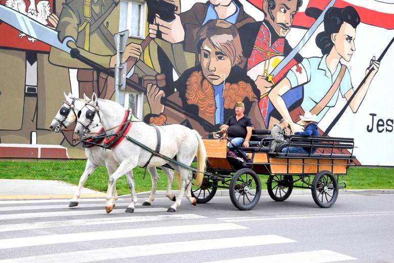 Rajd historyczny wyjechał spod skierniewickiego muzeum [ZDJĘCIA]