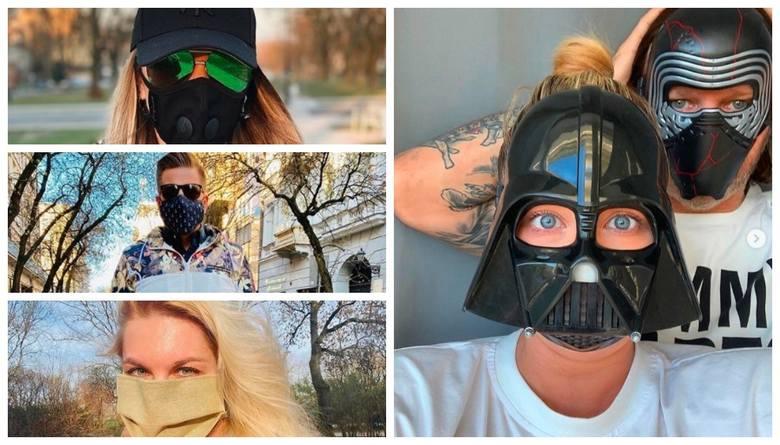 Zakrycia dolnej części twarzy stały się obowiązkowe, więc ruszyła giełda pomysłów na to, by maseczki stały się nie tylko skuteczne w walce z pandemią