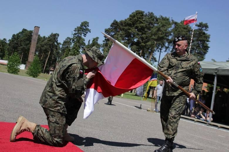 pożegnanie żołnierzy z 17 wielkopolskiej brygady zmechanizowanej