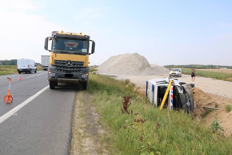 W czwartek 9 sierpnia ok. godz. 9.00 dyżurny świeckiej policji odebrał zgłoszenie o wypadku na drodze krajowej nr 5 w miejscowości Luszkowo, gm. Pru