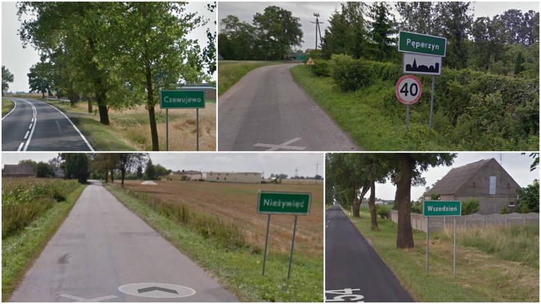 Najtrudniejsze nazwy kujawsko-pomorskich wsi. Cudzoziemiec nie wypowie [5.07]