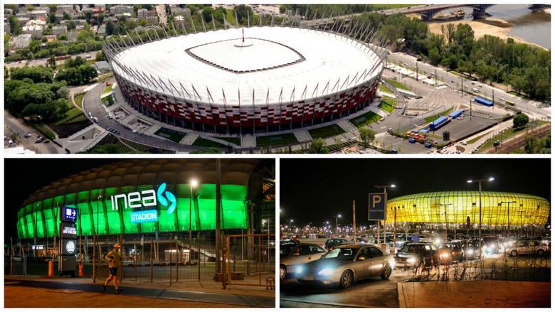 TOP 15 stadionów w Polsce [GALERIA, WIDEO]