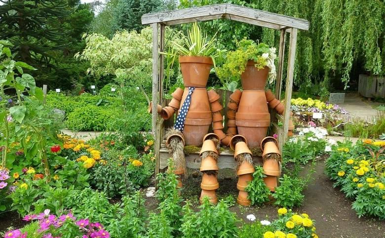 Dekoracja ogrodu