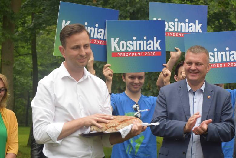 Władysław Kosiniak-Kamysz we Wrzącej