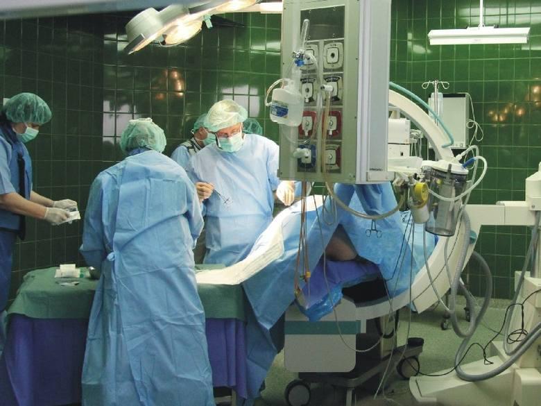 W Wojewódzkim Szpitalu w Przemyślu wykonano pierwszy zabieg ablacji.