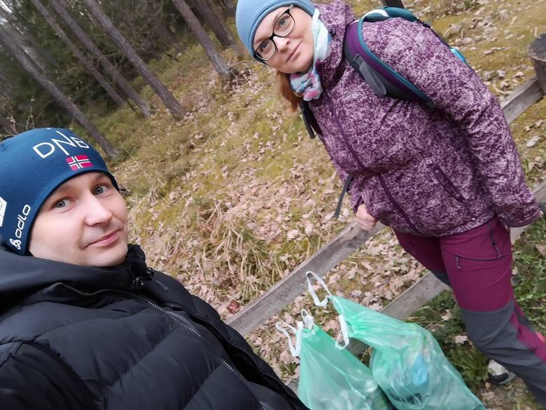 Wysprzątajmy lasy! Trwa nasza akcja dla rodziców i dzieci, którzy chcą dbać o przyrodę