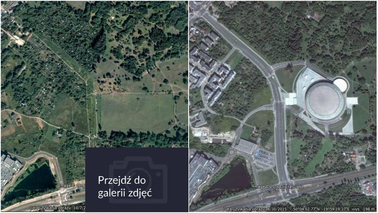 Jak mocno zabudował się Kraków? [PORÓWNAJ ZDJĘCIA]