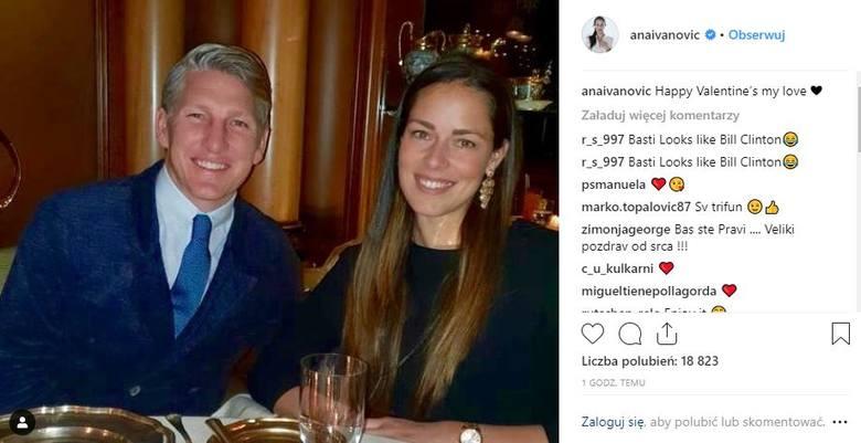 Ana Ivanović i Bastian Schweinsteiger, czyli była nr 1 damskiego tenisa i były piłkarski mistrz świata