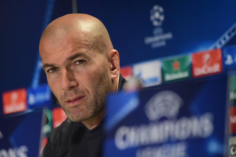 """""""Ta sytuacja jest absurdalna. Dalej gramy w Lidze Mistrzów, bo mamy do tego prawo"""". Zidane o możliwości wykluczenia Realu z Champions Leag"""