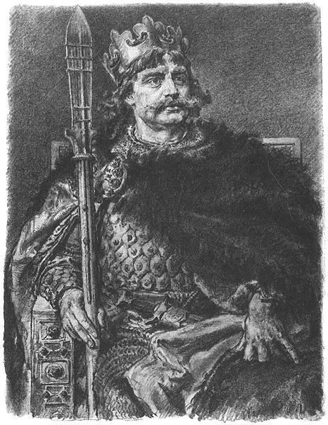 Tak według rysownika i znawcy fortyfikacji wyglądały znaczne grody obronne w dobie Bolesława Chrobrego