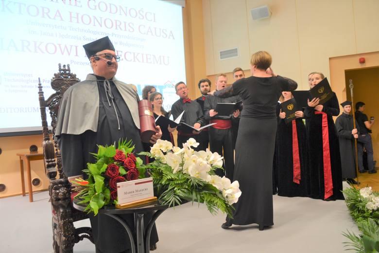W środę 6 listopada w Auditorium Novum Uniwersytetu Technologiczno-Przyrodniczego na bydgoskim Fordonie - niecodzienna uroczystość nadania w tej  uczelni