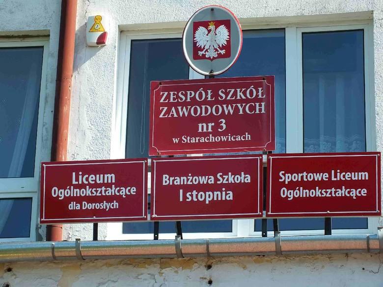 Batalia o przeniesienie Zespołu Szkół Zawodowych numer 3 w Starachowicach do innego budynku