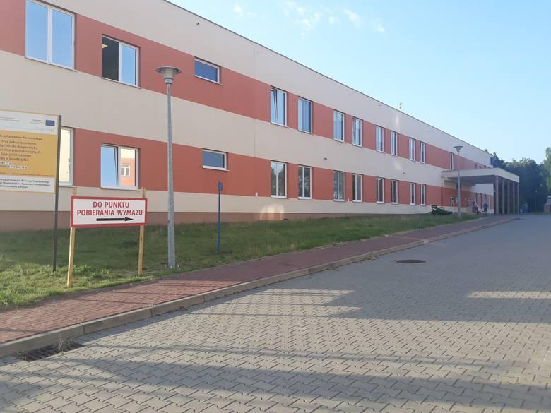Szpital w Grudziądzu przyjmuje najcięższe przypadki zarażonych koronawirusem z całego Kujawsko - Pomorskiego