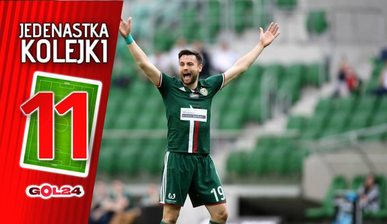 Jedenastka 33. kolejki LOTTO Ekstraklasy według GOL24 [GALERIA]