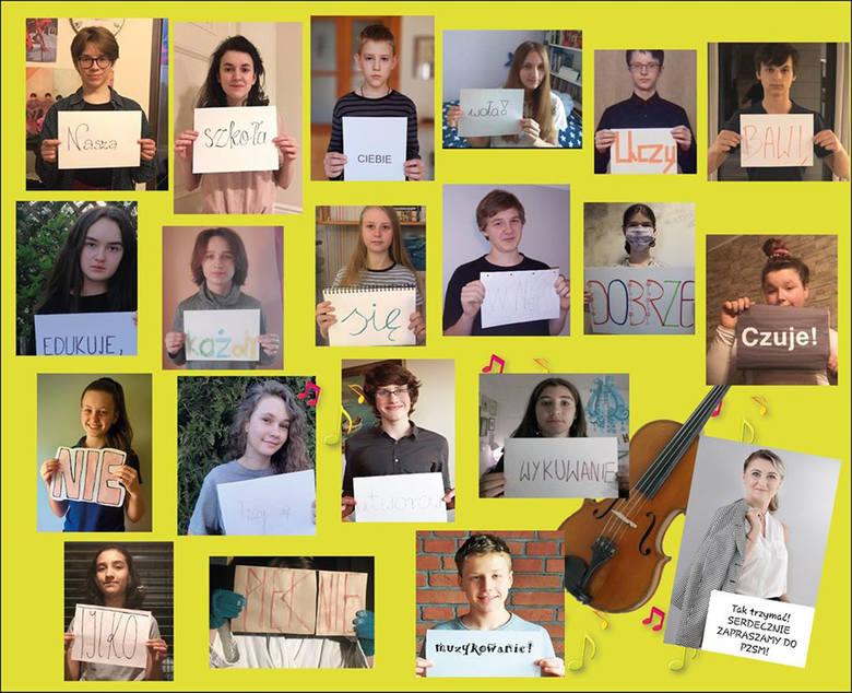Bydgoska szkoła muzyczna koncertuje na Facebooku