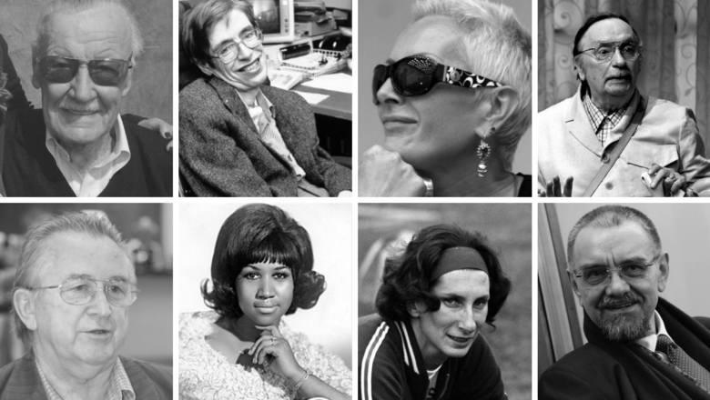 Za nimi tęsknimy najbardziej. Sławni ludzie, którzy odeszli w 2018 roku ZOBACZ GALERIĘ