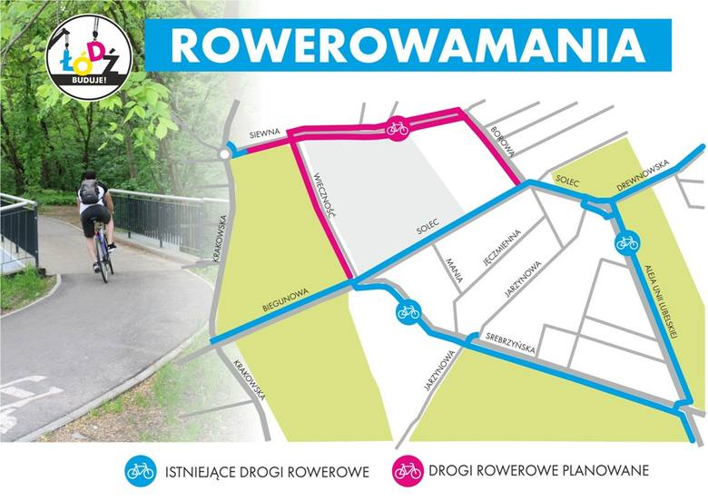 Przetarg na wybudowanie zaplanowanych dróg rowerowych ogłosi w najbliższych dniach Zarząd Dróg i Transportu w Łodzi. Prace mają rozpocząć się w wakacje