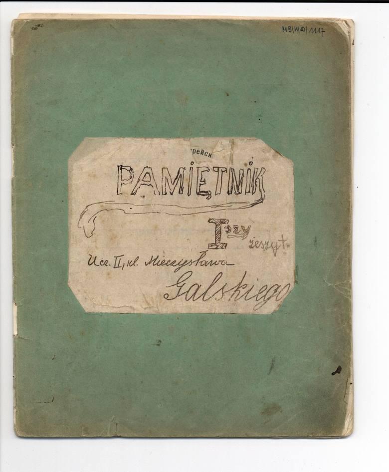 Mieczysław Galski postanowił pisać dziennik na początku 1915 roku. W latach 70. XX wieku odnalazł zachowane w doskonałym stanie zapiski i przekazał pamiętnik