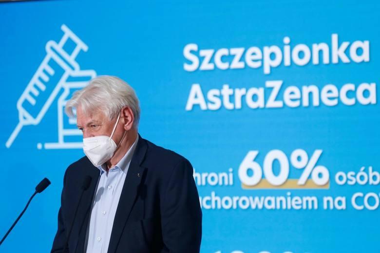 Minister zdrowia Adam Niedzielski: Nie będzie w Polsce mieszania szczepionek różnych firm. Co dalej ze szczepionką firmy AstraZeneca?