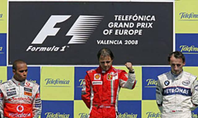 Kubica znowu na podium