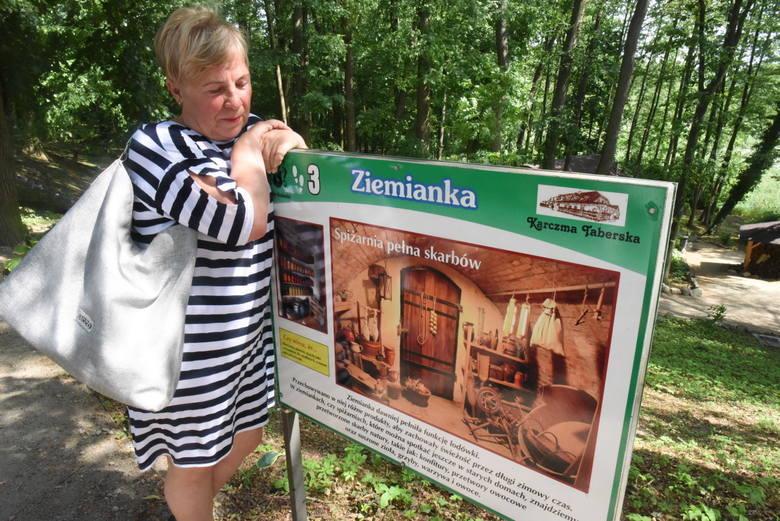 Jolanta Taberska wraz z mężem Markiem kultywuje regionalne tradycje, przekazując je młodemu pokoleniu. Spotkać ją można w Karczmie Taberskiej i Dworze
