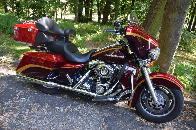 Takimi motocyklami pielgrzymi przyjechali do świętej Anny