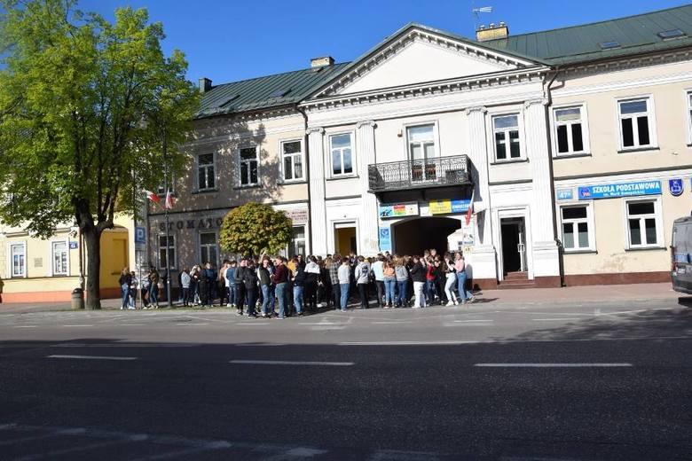 Alarm bombowy w Suwałkach