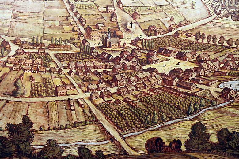 Tak na starej rycinie wyglądała przed wiekami Łódź. Nikt nie przypuszczał, że stanie się po latach przemysłowym miastemPOZNAJ HISTORIĘ MIASTA I ZOBACZ