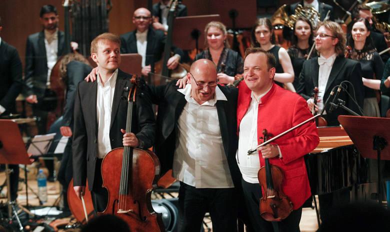 Włodek Pawlik w finałowym koncercie 54 Muzycznego Festiwalu w Łańcucie.