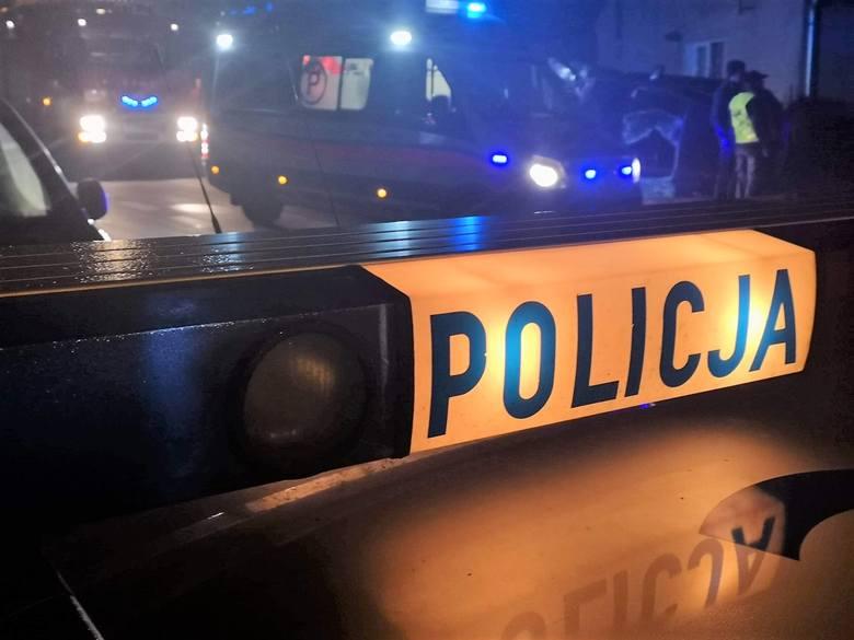 Mężczyzna został zatrzymany przez policję w jednym z mieszkań na terenie Nakła