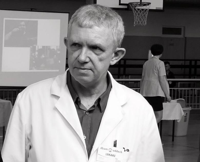 Ostrołęka. Dr Adam Zięba nie żyje. Zmarł dziś nagle