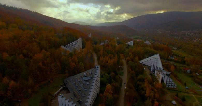 Piramidy z Ustronia, architektoniczna perełka. Właśnie powstaje o nich film [ZDJĘCIA]