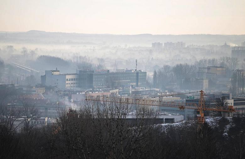 Kraków znów w smogu