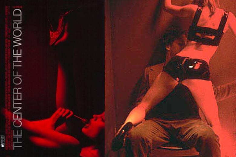 The Center of the World (2001)Film zawiera wiele graficznych scen autentycznego seksu, w tym także hardcore'owe.