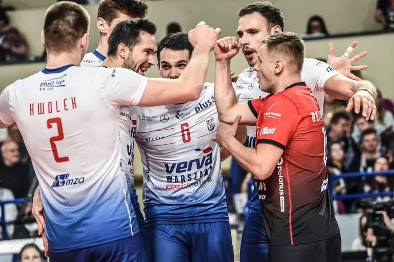 Verva Warszawa Orlen Paliwa pokonała Trefla Gdańsk, po meczu pomyłek