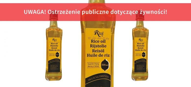 GIS wycofuje olej ze sprzedaży. Produkt uznano za niebezpieczny - zobacz ostrzeżenie