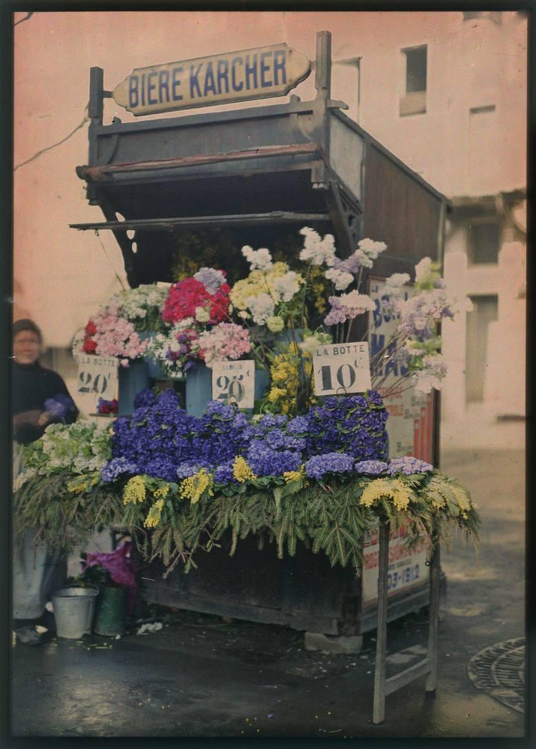 Autor nieznany, Kwiaciarka, kolekcja Soizic Audouard i Elizabeth Nora