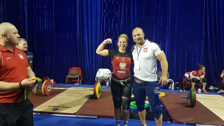 25-letnia sztangistka Budowlanych Całus Nowy Tomyśl, Patrycja Piechowiak, wywalczyła w Bukareszcie brązowy medal mistrzostw Europy w kategorii 69 kg.