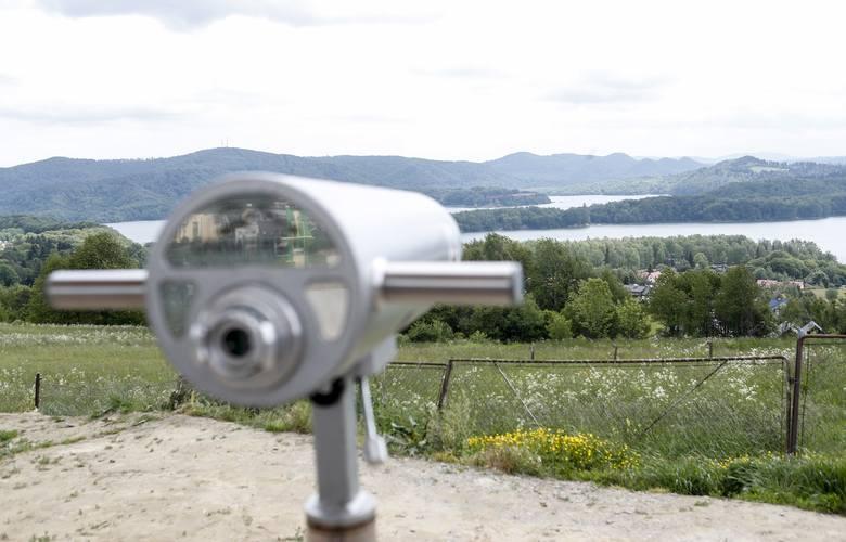 Kolejna atrakcja turystyczna dla odwiedzających Bieszczady. Nowy punkt widokowy w Polańczyku [ZDJĘCIA]