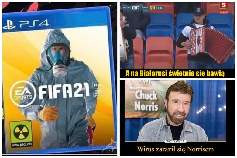 Koronawirus w Polsce rozszerza się w bardzo szybkim tempie. Internauci wzięli się za tworzenie memów o koronawirusie. Pandemia - pandemią, ale poczucie
