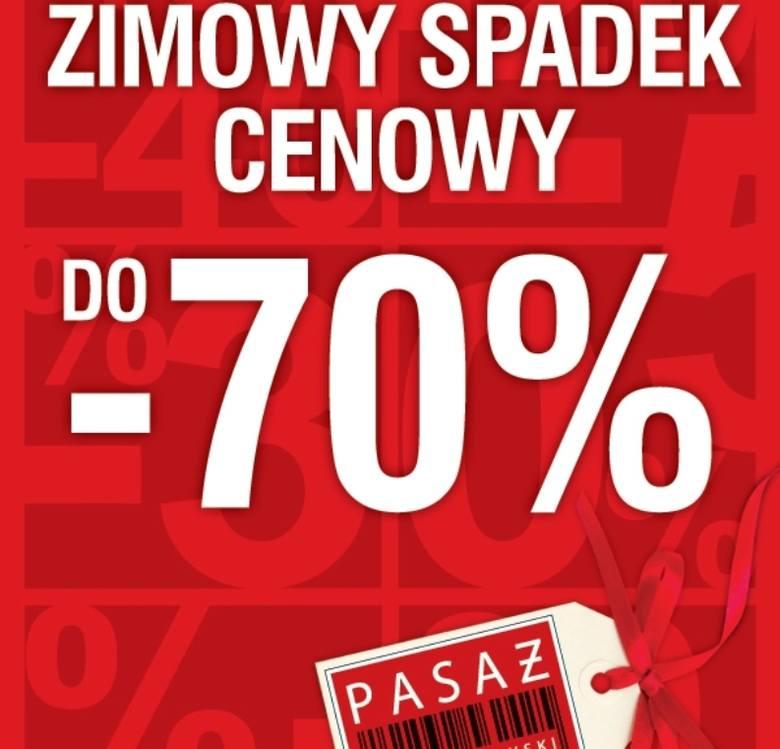 Markową odzież w Pasażu Świętokrzyskim w Kielcach można już kupić nawet 70 procent taniej.
