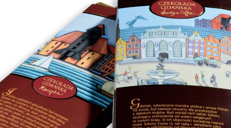 Gdańsk ma własną słodką wizytówkę. To nowa linia...czekolady!