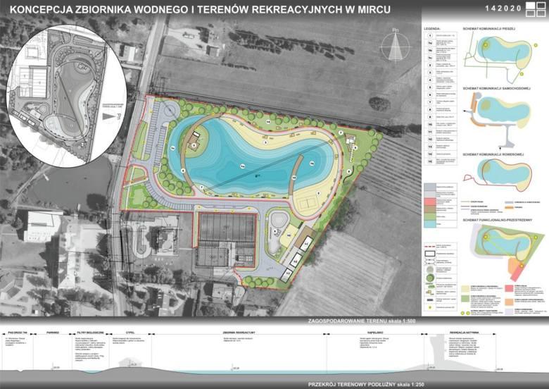 W Mircu powstaje zbiornik wodny z atrakcjami do rekreacji na miarę największych letnich kurortów (ZDJĘCIA)