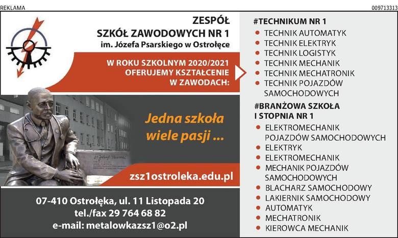Zespół Szkół Zawodowych Nr 1 im. Józefa Psarskiego w Ostrołęce