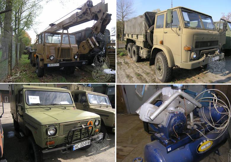Oddział Regionalny Agencji Mienia Wojskowego w Szczecinie ogłasza przetarg pisemny publiczny na sprzedaż sprzętu. Co można kupić? Sprawdźcie nasze z