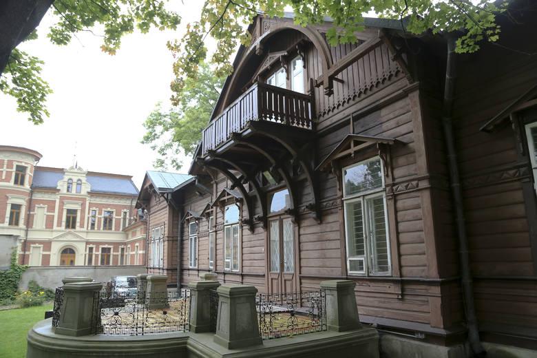 W drewnianym budynku znajduje się Muzeum Rzeźby Alfonsa Karnego. Willa w 1878 roku należała do rodziny Malinowskich, potem nabył ją generał-major Mikołaj Fiodorowicz, baron von Driesen.